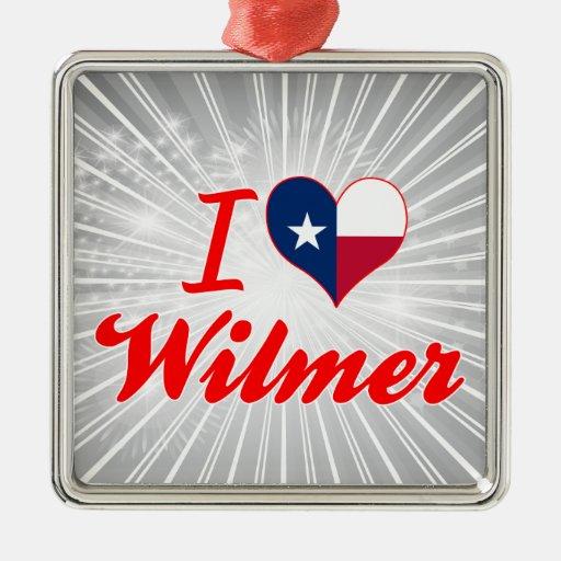 I Love Wilmer, Texas Christmas Tree Ornament