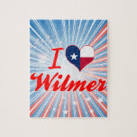 I Love Wilmer, Texas Jigsaw Puzzle