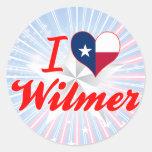 I Love Wilmer, Texas Sticker