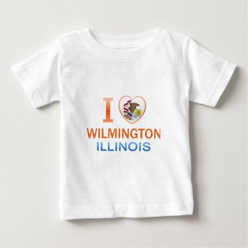 I Love Wilmington, IL Tshirts