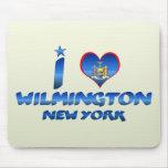 I love Wilmington, New York Mouse Pad