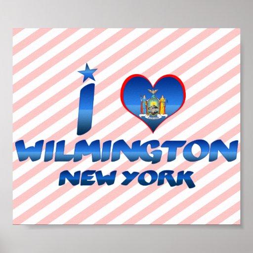 I love Wilmington, New York Posters