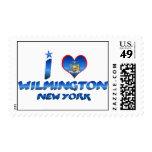 I love Wilmington, New York Stamps