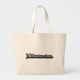 I love Wilmington North Carolina Classic Design Jumbo Tote Bag