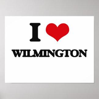 I love Wilmington Print