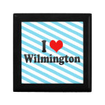 I Love Wilmington, United States Jewelry Boxes