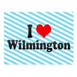 I Love Wilmington, United States Post Card
