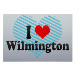 I Love Wilmington, United States Poster