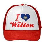 I Love Wilton, New Hampshire Trucker Hat