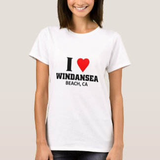 I love windansea Beach T-Shirt
