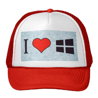 I Love Windows Trucker Hat