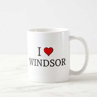 I love Windsor Coffee Mug