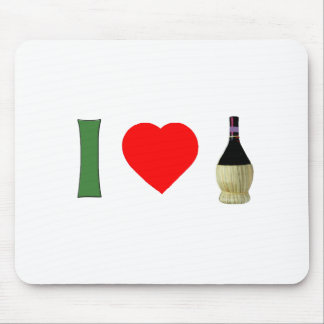 I Love Wine Mouse Pad