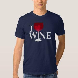 I Love Wine T Shirt