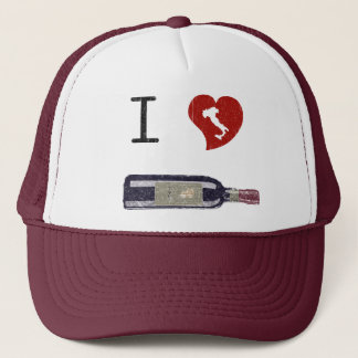 I Love Wine Trucker Hat