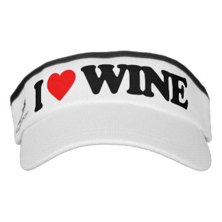 I LOVE WINE VISOR