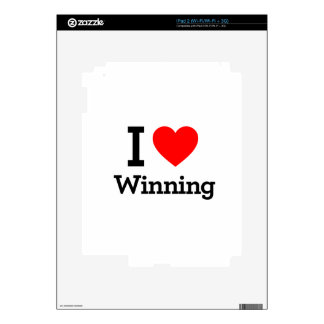 I Love Winning Skins For iPad 2