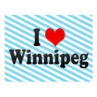 I Love Winnipeg, Canada Postcards