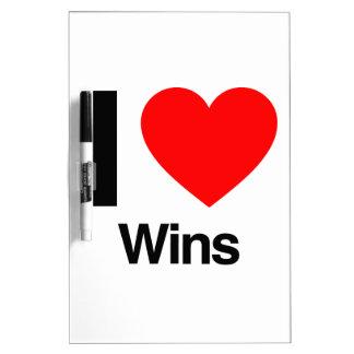 i love wins Dry-Erase whiteboards
