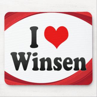 I Love Winsen Germany Ich Liebe Winsen Germany Mousepads