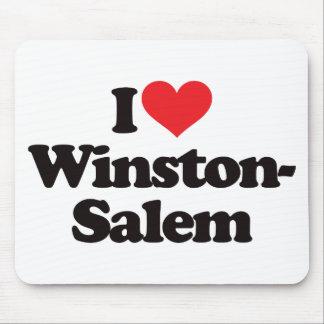 I Love Winston-Salem Mouse Pad