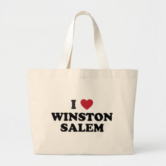 I Love Winston Salem North Carolina Bag