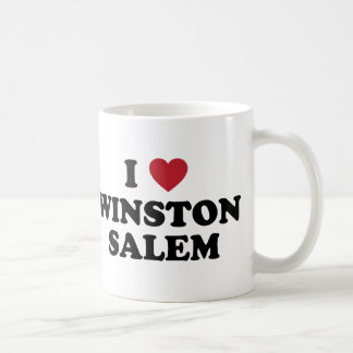 I Love Winston Salem North Carolina Coffee Mug