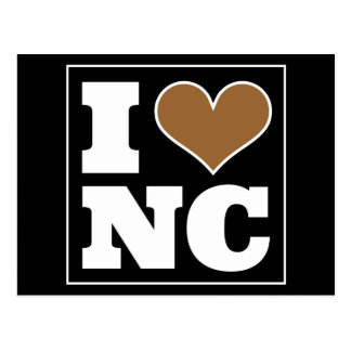 I Love Winston-Salem North Carolina Postcard