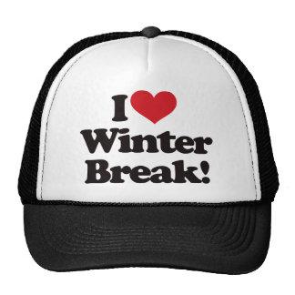 I Love Winter Break! Trucker Hat