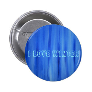 I Love Winter Buttons