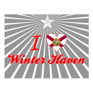 I Love Winter Haven, Florida Postcard