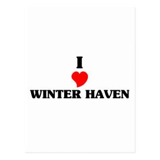 I love Winter Haven Postcard