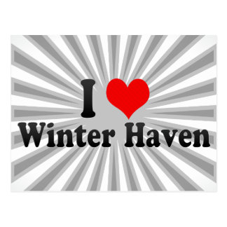 I Love Winter Haven, United States Postcard