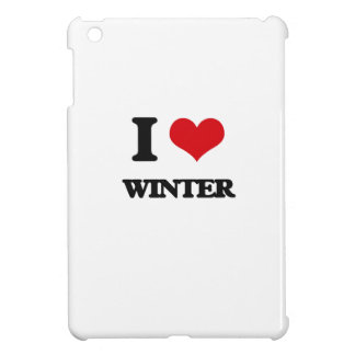I love Winter iPad Mini Cover