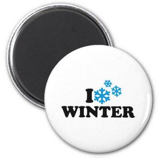 I love winter magnets