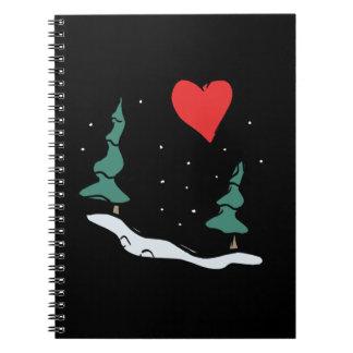 I Love Winter Spiral Notebooks