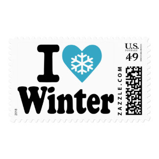 I love winter stamps