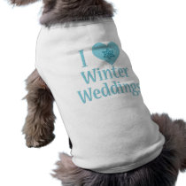 I Love Winter Weddings T-Shirt