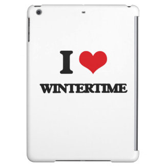 I love Wintertime iPad Air Cover