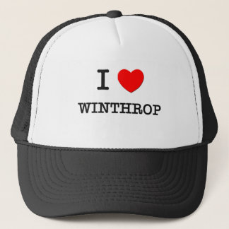 I Love WINTHROP Trucker Hat