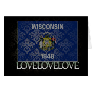 I love Wisconsin Cool Card