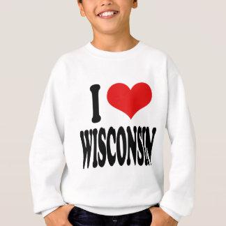 I Love Wisconsin Sweatshirt