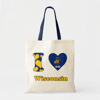 I love Wisconsin Tote Bag