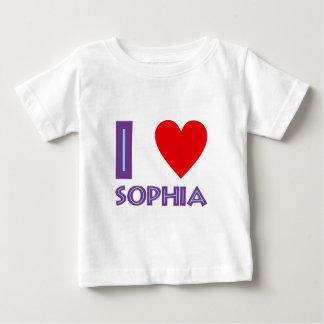 I love wisdom philosophy I love sophia Baby T-Shirt