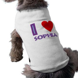 I love wisdom philosophy I love sophia Shirt