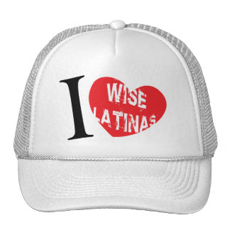 i love wise latina sotomayor Cap Trucker Hat