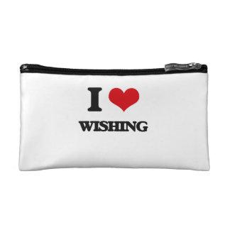 I love Wishing Makeup Bag