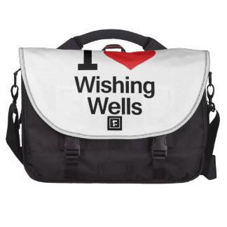 I Love Wishing Wells Commuter Bag