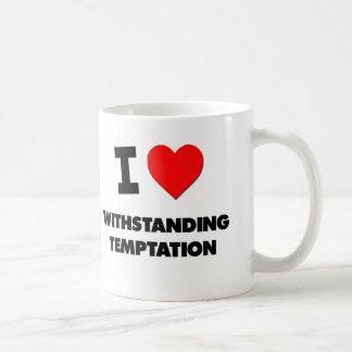I love Withstanding Temptation Mug