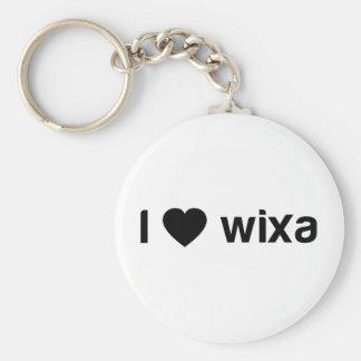 I Love Wixa Key Chain